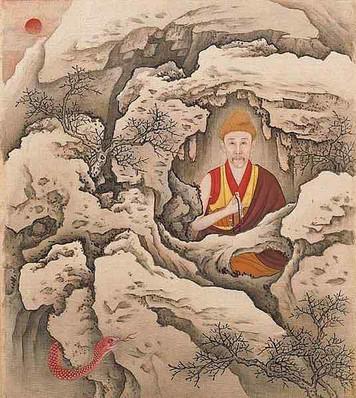 Yongzheng Emperor in Tibetan Buddhism Costume.
