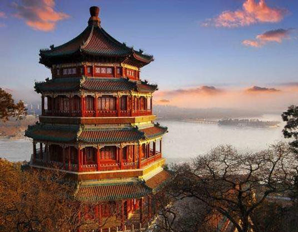 Foxiang Ge of Summer Palace