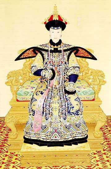 Empress Xiaoxianchun in Court Dress