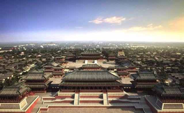 Restoration Map of Palace of the Sui Dynasty