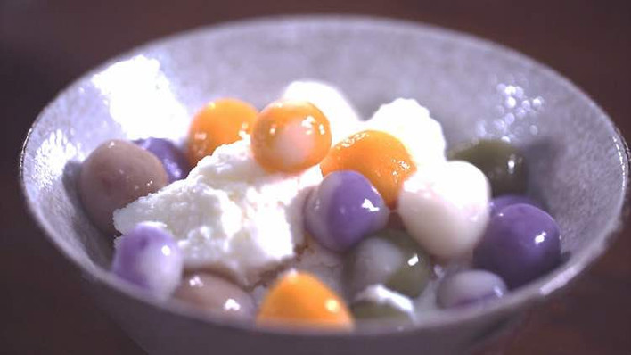 Ice Cream Balls, or Bingxue Lengyuanzi