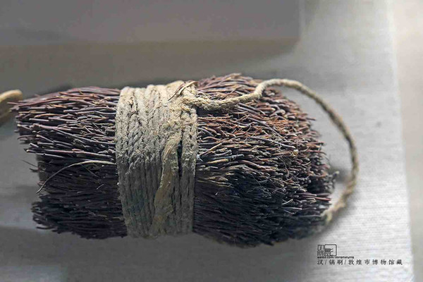 Scourer of Soldiers Quartering in Great Wall in the Western Regions of the Han Dynasty