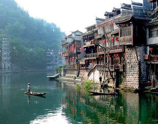 Stilted Dwelling in Ancient Town Phoenix