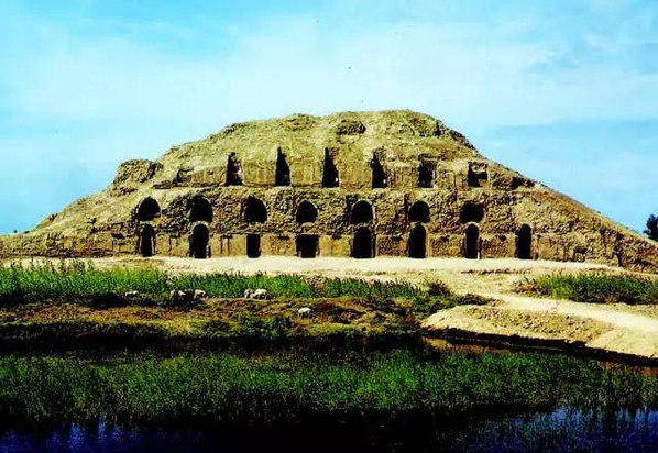 Beiting Ancient City (1st BC to 15th Century ) in Jimusaer City