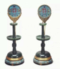 Ancient Candlesticks for Chinese Traditional Wedding
