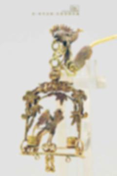 Phoenix Shaped Gold Hairpin (Zan) of the Qing Dynasty