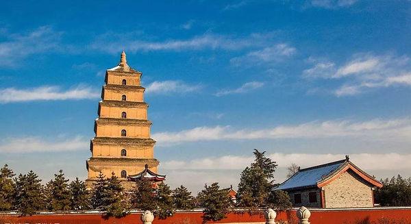 Dayan Pagoda in Xi'an City