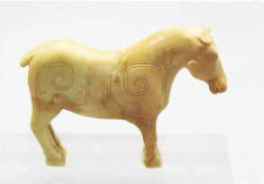 Jade Horse of Zhou Dynasty — Shanxi Museum