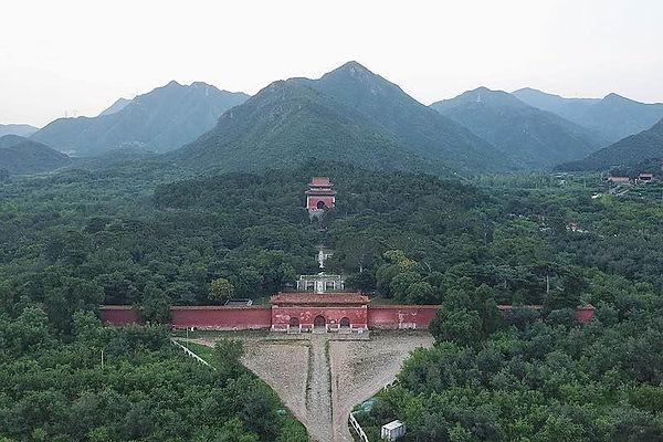 Mausoleum of Jiajing Emperor (Ming Yong Ling) in Beijing