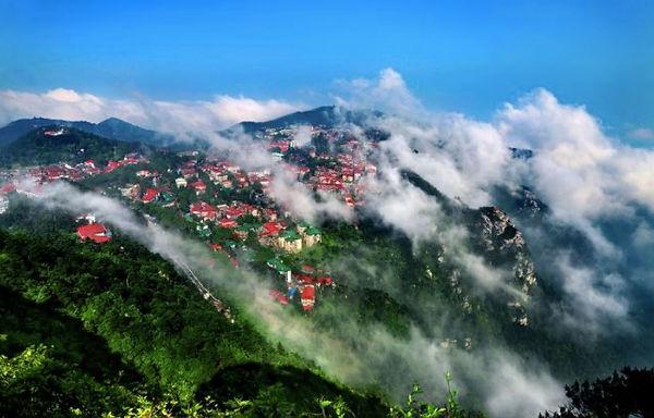 International Buildings on Guling of Mount Lu