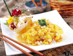 Crab-Flavored Fish Fried Egg