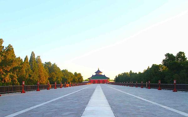 Vermilion Steps Bridge or Danbi Qiao of the Temple of Heaven