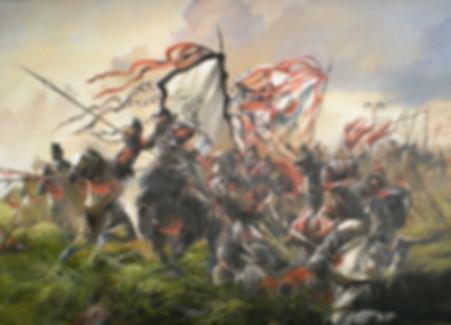 Emperor Liu Xiu in battlefiled