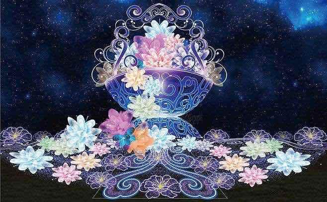 Lanterns Made Flowers