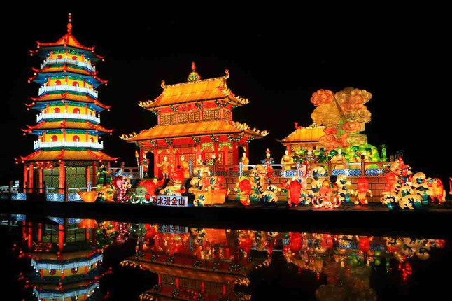 Lanterns about Folklore and Legend