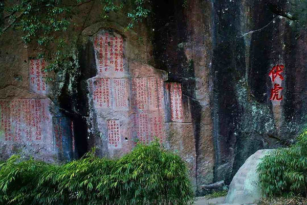 Ancient Stone Inscriptions of Mount Wuyi