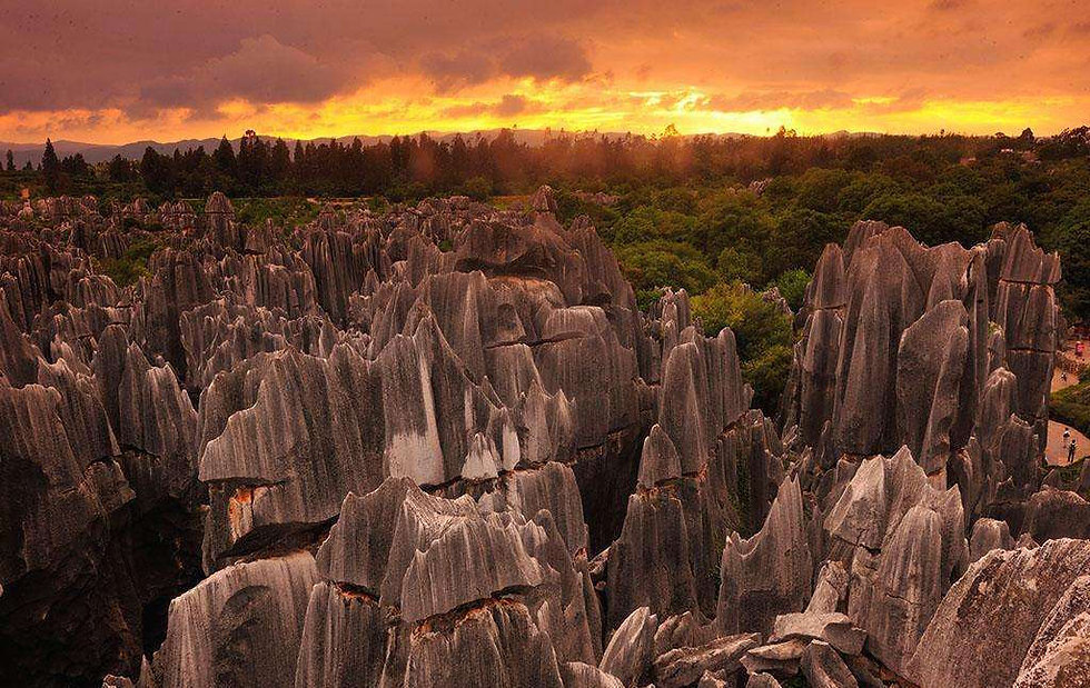 stone forest of yunnan