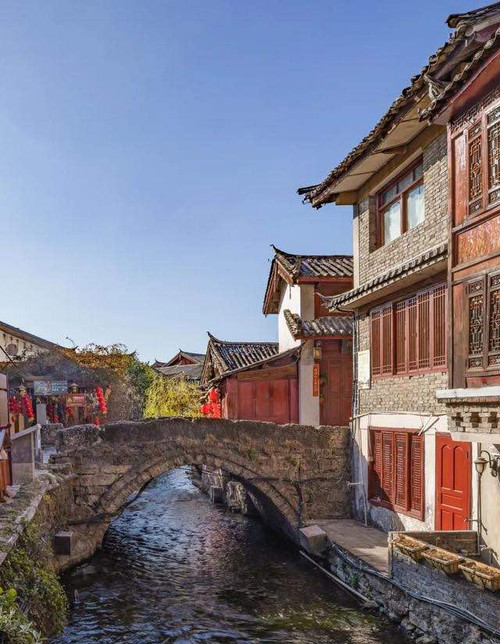 Ancient Stone Bridge and Building Complex of Lijiang