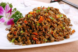 Fried Minced Meat with Vegetables