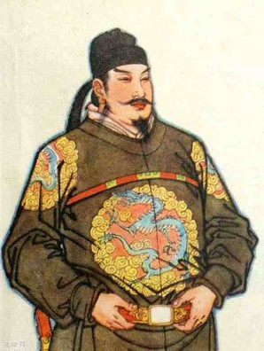 Emperor LiShimin or Tang Tai Zong of Tang Dynasty in History of China