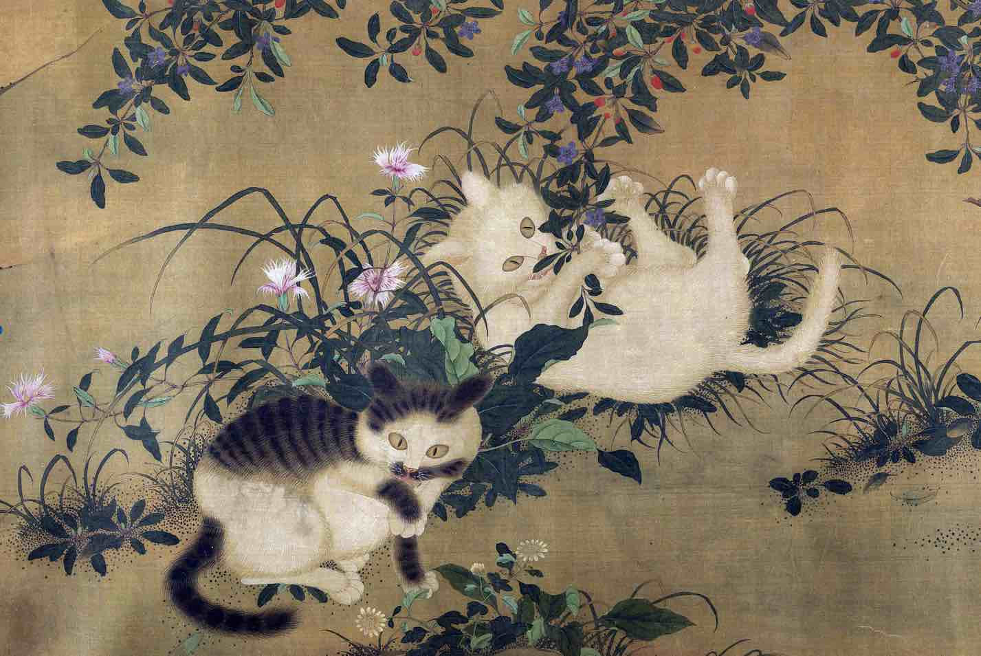 Five Leopard Cats (Wu Li Nu Tu) Part 3 — The Metropolitan Museum of Art