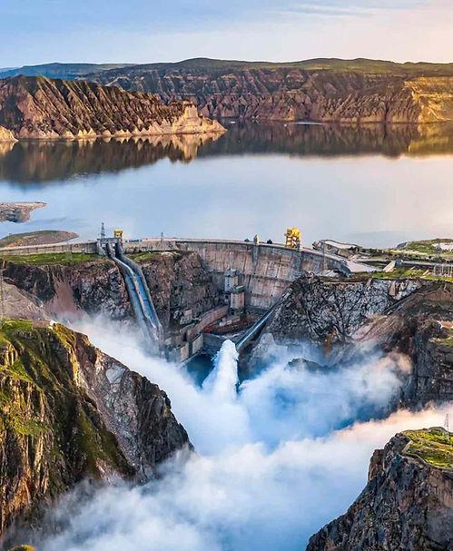 Flood Discharge of Longyangxia Dam on Yellow River