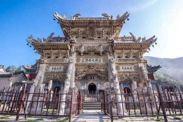 Stone Carving of Longquan Temple