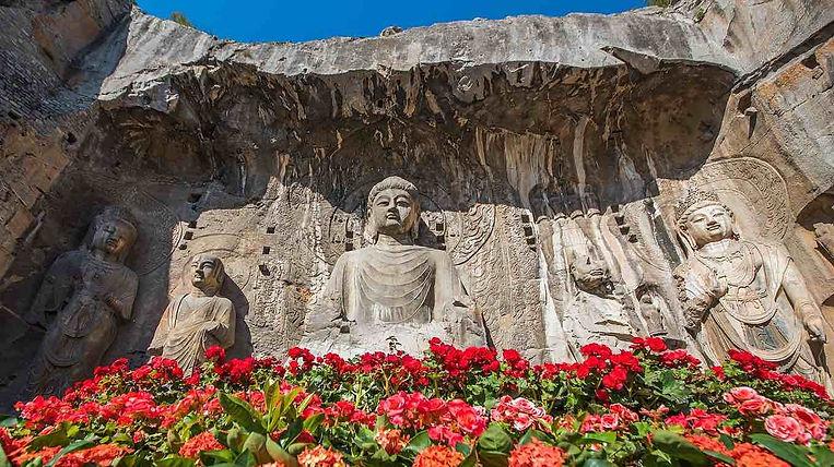 Vairocana Buddha in Fengxian Temple