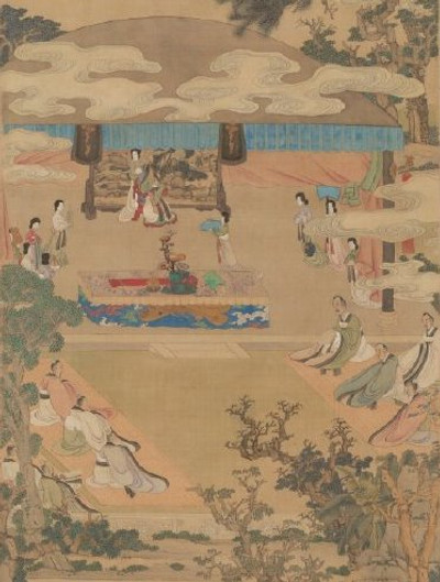 King Fu Jian Assigned Students to Learn from Xuan Wenjun, The First Female Doctor of Confucianism in Chinese History