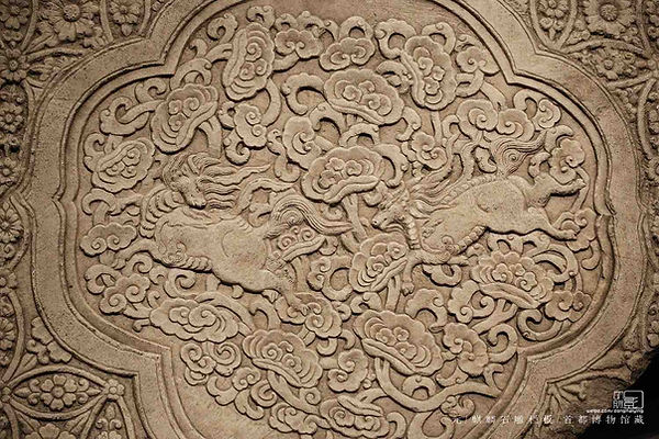 Images of Qilin Carved on Stone Fence of the Yuan Dynasty (1271 — 1368)