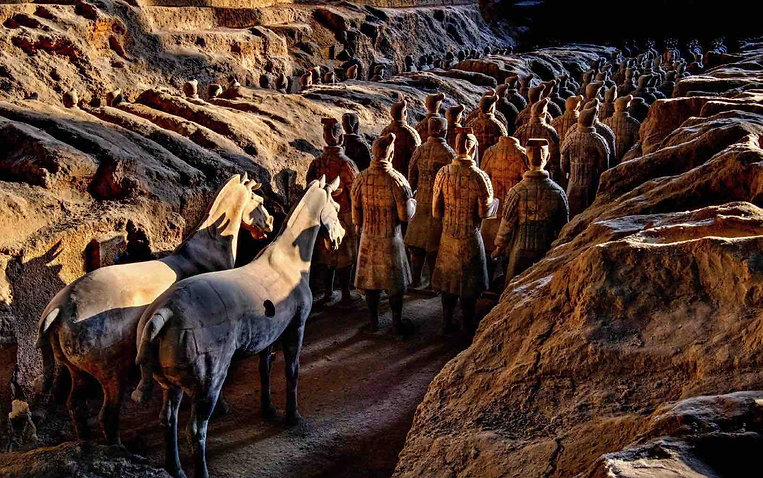 Terracotta Warriors and Horses of the Mausoleum of Qin Shi Huang