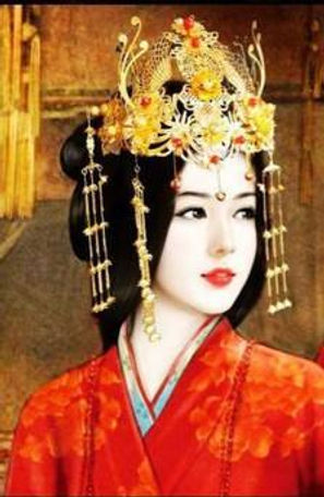 Gorgeous queen Zhao Feiyan of the Han Dynasty