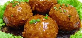 Wheat Gluten Ball Stuffed with Pork