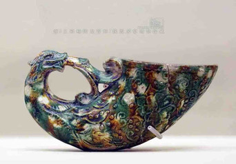Unearthed Tri-coloured Glazed Pottery Cup (Tang San Cai) of the Tang Dynasty — Shaanxi History Museum