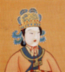 Portrait of Empress Wu Zetian