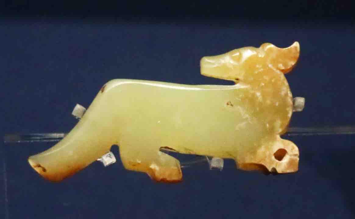 Jade Dog of the Shang Dynasty