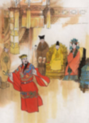 Regent Zhang Juzheng of Ming Dynasty in History of China and His Emperor and Empress Dowager