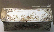 """Porcelain Pillow with the Story of """"The Journey to the West"""" — Guangdong Museum"""