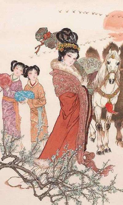 Wang Zhaojun or Wang Qiang of the Han Dynasty