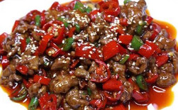 Spicy Fried Beef