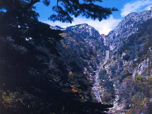 Sacred Mount Tai of Shandong Province