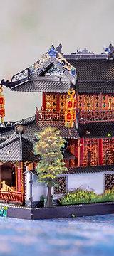 Suzhou Style Garden 3D Metal Puzzle Model