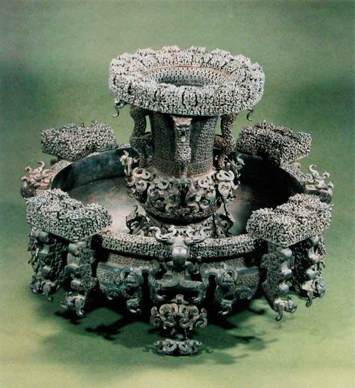 Bronze Water and Wine Container Decorated with Hundreds of Dragons, the most Exquisite Bronze Wares in the Warring States Period(Unearthed from Tomb of Zeng Hou Yi)