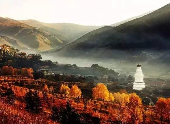 Mount Wutai of Shanxi Province