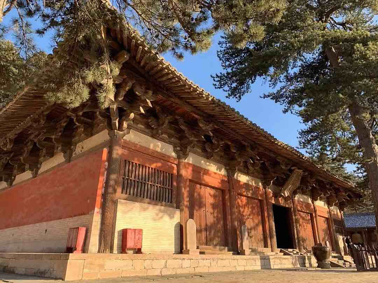 Main Hall of Foguang Temple of Mount Wutai
