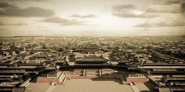 Restoration Map of Palace of the Tang Dynasty
