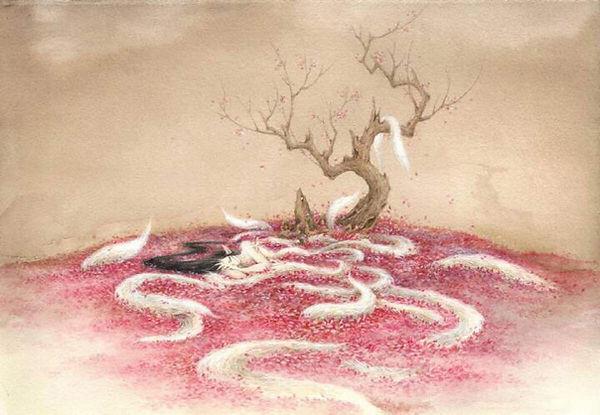 Nine-Tailed Fox Drew by Shanze Li Yifan