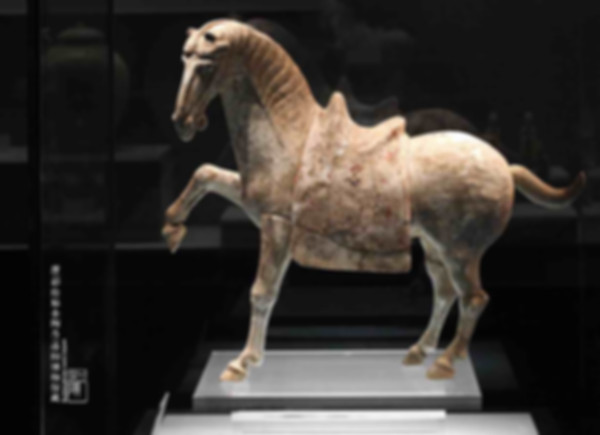 Painted Pottery Horse of the Tang Dynasty