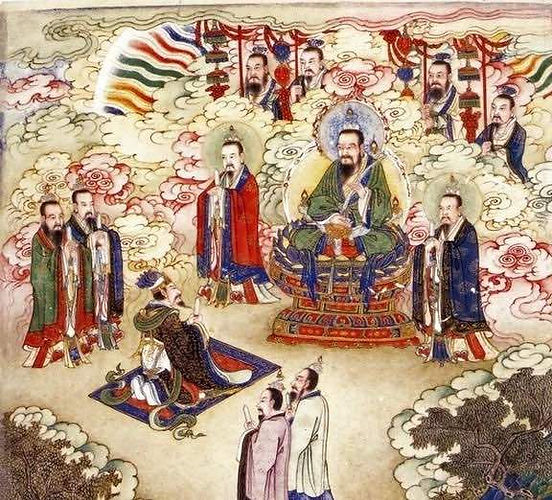 Tai Yi Shen and other Immortals in Ancient Chinese Culture