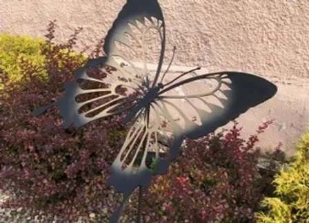 Emperor Butterfly Garden Stake